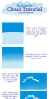 Tutorial: Paint Tool Sai Clouds by Shrineheart