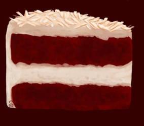 Break Art: Painting Practice Cake by Shrineheart