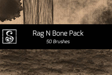 Manga Studio Rag N Bone Pack - 50 Items by Shrineheart