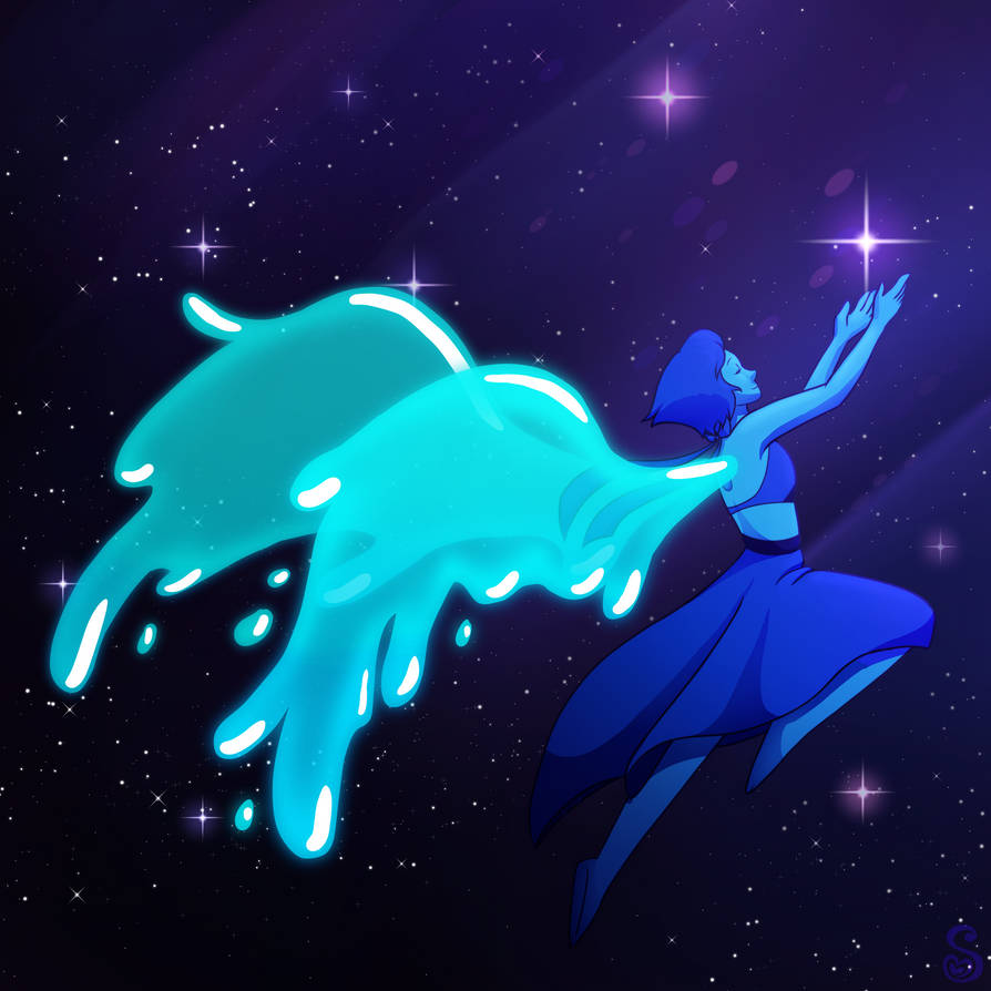 For some reason Zedd's music always makes me think of Lapis. So here's Lapis returning home.