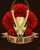 Print: Life And Death by Shrineheart