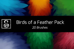 Shrineheart's Birds of a Feather Pack - 20 Brushes by Shrineheart