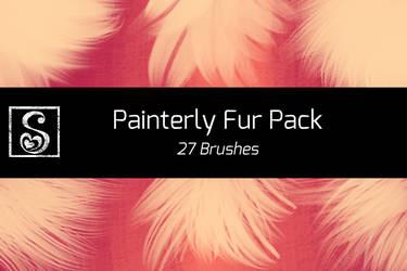 Shrineheart's Painterly Fur Pack - 27 Brushes by Shrineheart