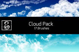 Shrineheart's Cloud Pack - 17 Brushes by Shrineheart