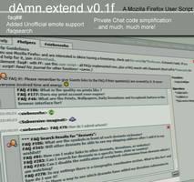 dAmn.extend - a dAmn extension by siebenzehn
