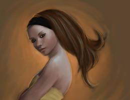 Desert Queen - portrait by Ciuva