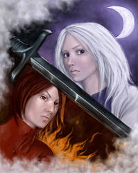 Two edged sword by Ciuva