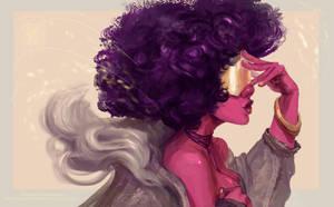 Steven Universe - Garnet [SPEEDPAINT] by ArainMorn