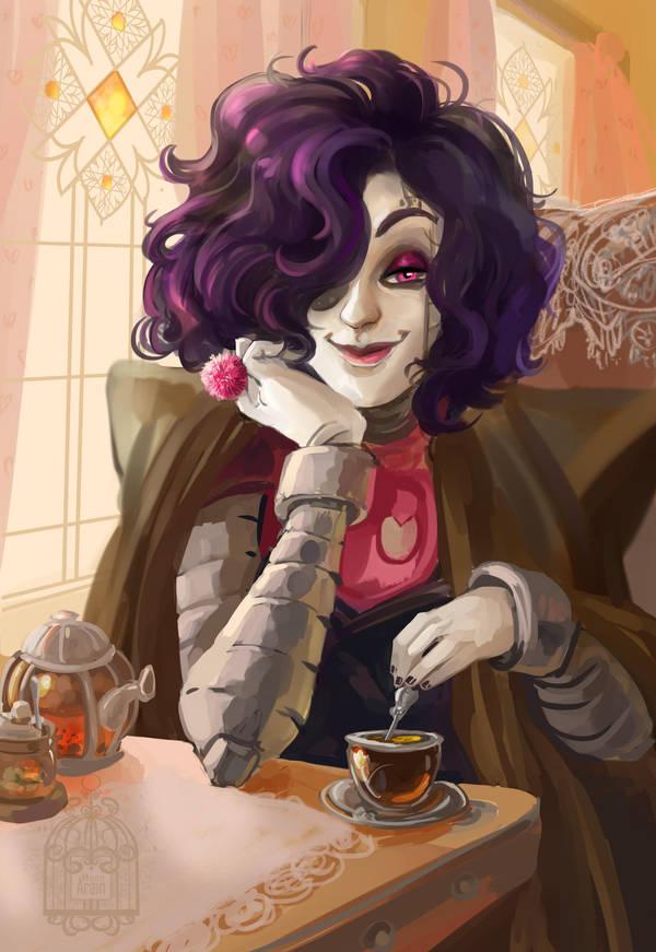 UT: Cup of tea by ArainMorn