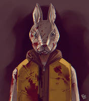 Hotline miami fanart by Pa-Go
