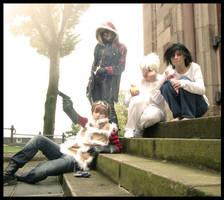 Death Note Cosplay Group by Tutiya