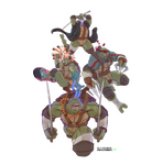 TMNT Tribute piece. WIP by RAYN3R-4rt