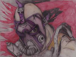 Krieg The Psycho by zoulse