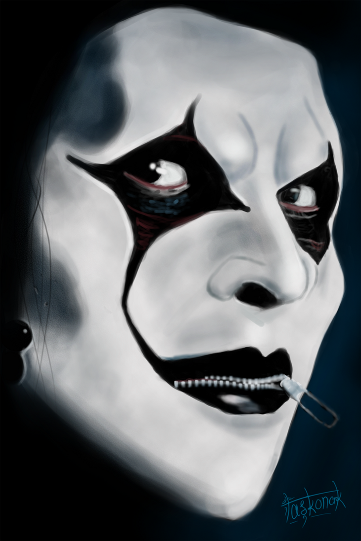 Jim Root of Slipknot by dtaskonak