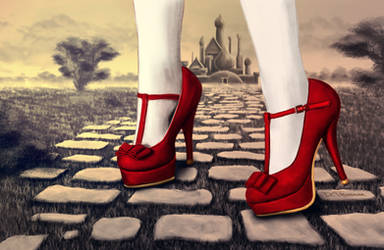 Follow the yellow brick road by dtaskonak