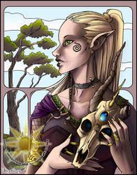 Macabre Elf by BrightSolaris