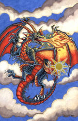 Noah's Dragon by BrightSolaris