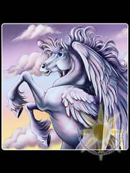 Sunrise Pegasus by BrightSolaris