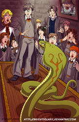 Harry Potter  Parselmouth by BrightSolaris