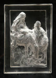 ClearMary and Joseph by sculptor6