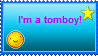 Tomboy Stamp by Aiko-Cat