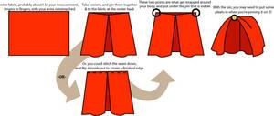 Mini Tutorial: Quick 300 Cloak by taeliac