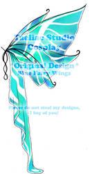 DESIGN: Blue Fairy Wings by taeliac