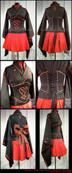 Heartless Underbust Corset by taeliac