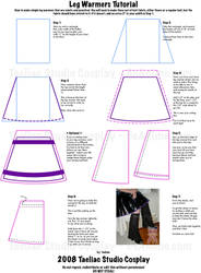 Tutorial : Simple Leg Warmers by taeliac