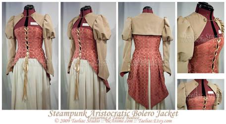 Steampunk Aristocratic Bolero by taeliac