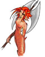 Akhiss the Demon by taeliac