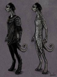 Cardassian Redesign by CalSparrow