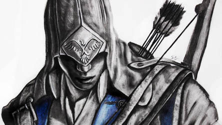 Assassin's Creed III: Connor by SanDrawGames