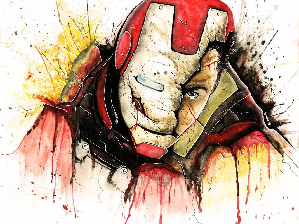 I am Iron Man by SanDrawGames