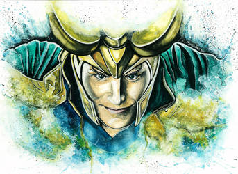 God of Mischief by SanDrawGames