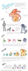 Bundrops [OPEN SPECIES] Species Guide by bkomae