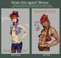 draw this again Yulan OwO by deadfoxspirit