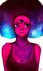 Garnet by MissKiwiArt