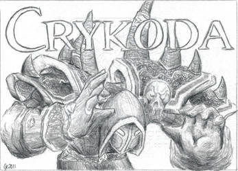 BlizzCon Badges - Crykoda by EmberIsolte