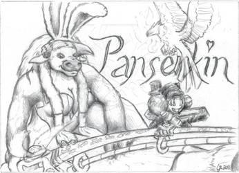 BlizzCon Badges - Panserkin by EmberIsolte