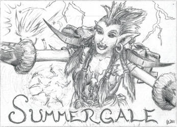 BlizzCon Badges - Summergale by EmberIsolte