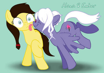 Alana Licked by Ember :collab: by EmberIsolte