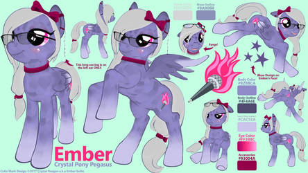 Ember Reference Sheet 2017 by EmberIsolte