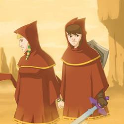 The Journey of Zelda by DeVinc79