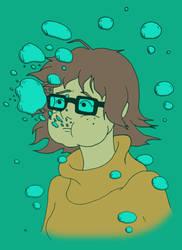 Drowning Velma by Akira-Devilman666