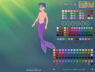 Mermaid-Scene-by-AzaleasDolls by 90skid2386