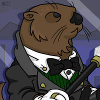 The Sophisticated Otter by professorhazard