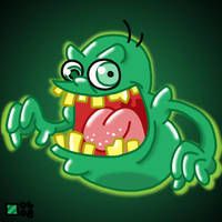 Slimer by professorhazard