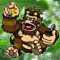 Crypto Kong by professorhazard