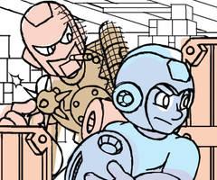 Meet Spy Man - Sketch by professorhazard